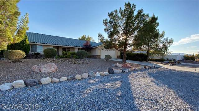 5921 E Bridger, Pahrump, NV 89061 (MLS #2153196) :: The Snyder Group at Keller Williams Marketplace One