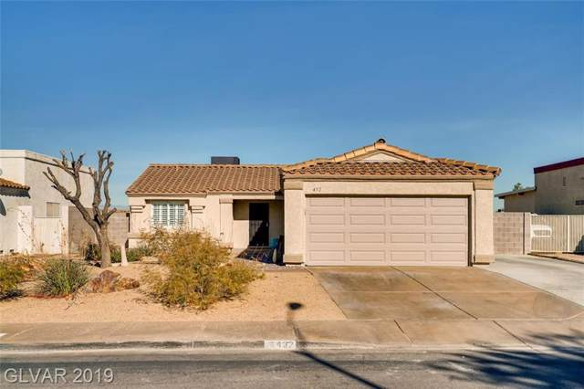 432 Nancy, Henderson, NV 89015 (MLS #2153237) :: Signature Real Estate Group