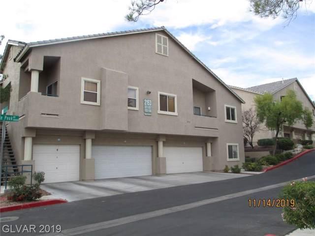 2153 Quartz Cliff #103, Las Vegas, NV 89117 (MLS #2153416) :: Trish Nash Team