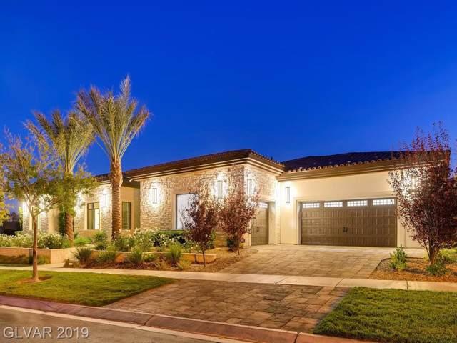 27 Vintage Canyon, Las Vegas, NV 89141 (MLS #2153464) :: Signature Real Estate Group