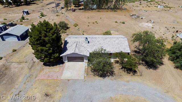 2760 W Retread, Pahrump, NV 89060 (MLS #2153540) :: The Snyder Group at Keller Williams Marketplace One