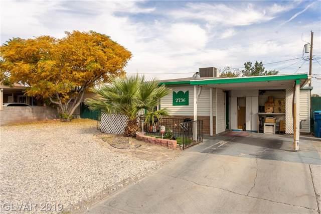 2736 Magnet, North Las Vegas, NV 89030 (MLS #2153575) :: Signature Real Estate Group