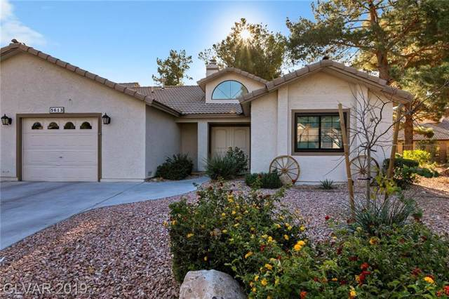5613 Divot, Las Vegas, NV 89130 (MLS #2153964) :: The Snyder Group at Keller Williams Marketplace One