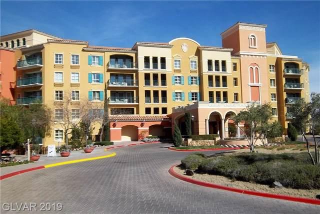 30 Strada Di Villaggio #523, Henderson, NV 89011 (MLS #2154102) :: Brantley Christianson Real Estate