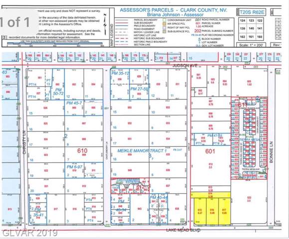 5700 E Lake Mead, Las Vegas, NV 89156 (MLS #2154103) :: Signature Real Estate Group