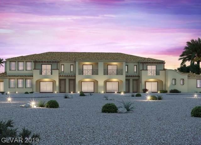 1048 Via Lombardi #39, Henderson, NV 89011 (MLS #2154520) :: Signature Real Estate Group