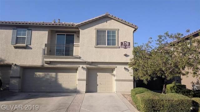 370 Clarence House #103, North Las Vegas, NV 89032 (MLS #2154708) :: Trish Nash Team