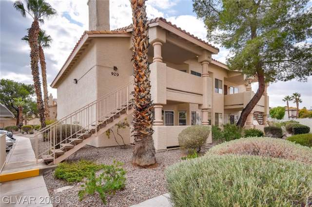 929 Boulder Mesa #202, Las Vegas, NV 89128 (MLS #2155092) :: Trish Nash Team