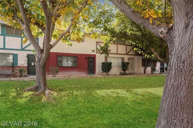 522 Greenbriar Townhouse, Las Vegas, NV 89121 (MLS #2155578) :: Signature Real Estate Group