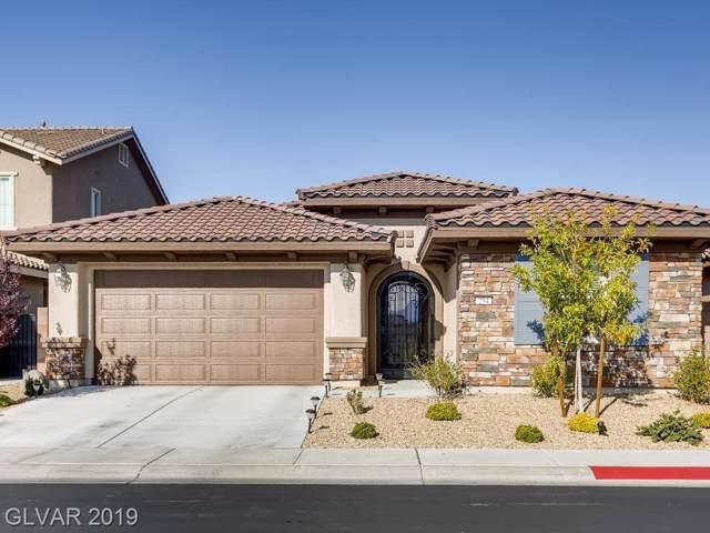 294 Via Del Salvatore, Henderson, NV 89011 (MLS #2155990) :: Signature Real Estate Group
