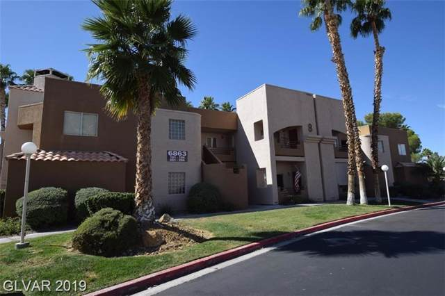6863 Tamarus #104, Las Vegas, NV 89119 (MLS #2156120) :: Trish Nash Team