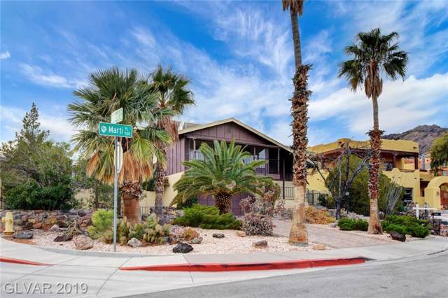 500 Marti, Boulder City, NV 89005 (MLS #2156401) :: Brantley Christianson Real Estate