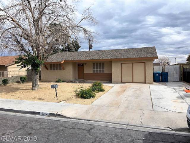 2224 Wendell, Las Vegas, NV 89101 (MLS #2156498) :: Signature Real Estate Group