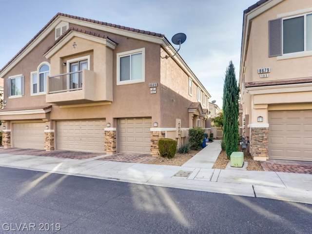 8669 Horizon Wind #102, Las Vegas, NV 89178 (MLS #2156500) :: Vestuto Realty Group