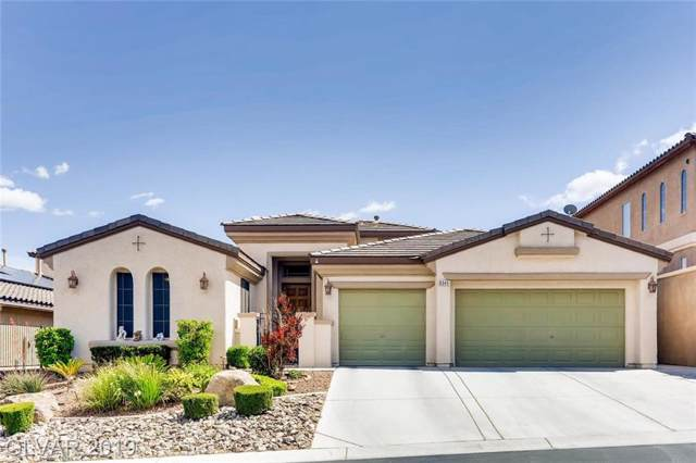 8345 Cupertino Heights, Las Vegas, NV 89178 (MLS #2156501) :: Signature Real Estate Group