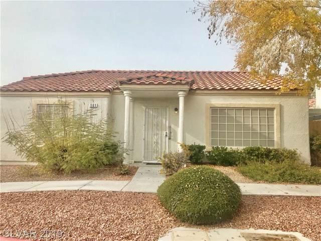 5400 Comchec #101, Las Vegas, NV 89108 (MLS #2156855) :: Signature Real Estate Group