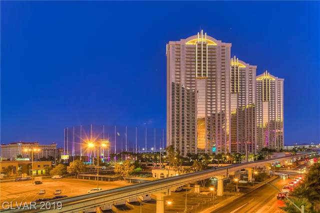 125 Harmon #1421, Las Vegas, NV 89109 (MLS #2156867) :: Trish Nash Team
