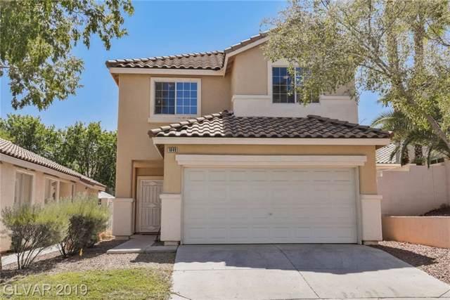 1849 Thunder Mountain, Henderson, NV 89012 (MLS #2156899) :: Signature Real Estate Group