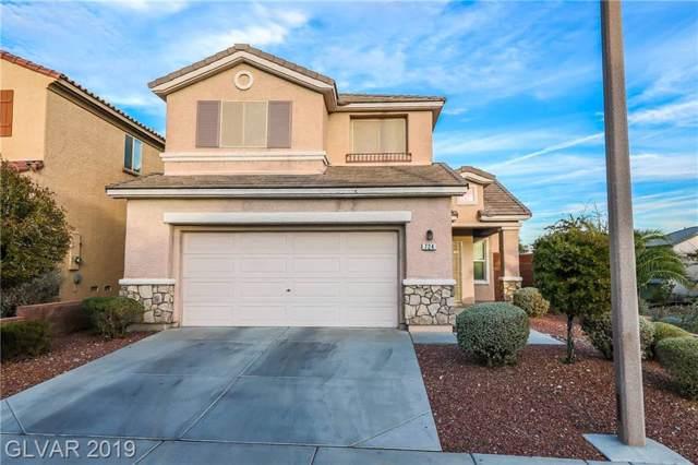 724 Jacobs Ladder, Las Vegas, NV 89138 (MLS #2156992) :: Brantley Christianson Real Estate