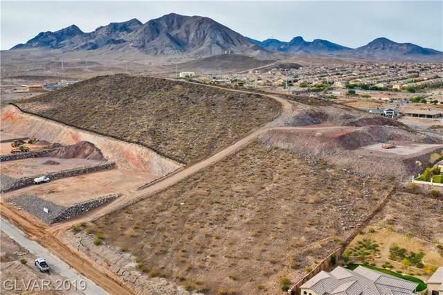 Gloria Mountain Rd., Henderson, NV 89002 (MLS #2157081) :: Brantley Christianson Real Estate