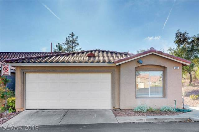 395 Blanca Springs, Henderson, NV 89014 (MLS #2157136) :: Brantley Christianson Real Estate