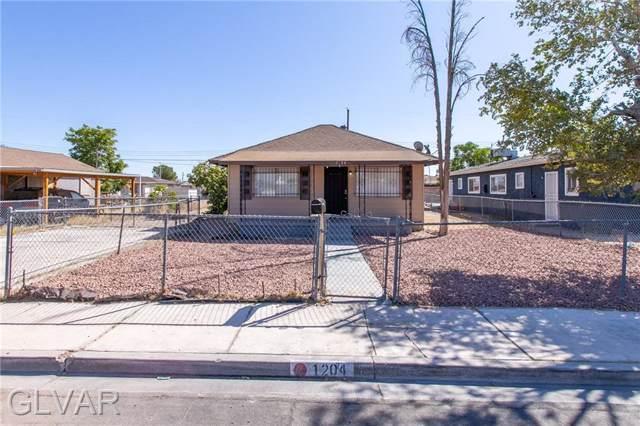 1204 Cunningham, Las Vegas, NV 89106 (MLS #2157312) :: Signature Real Estate Group