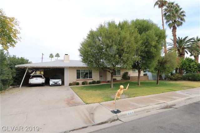 553 Ellen, Las Vegas, NV 89104 (MLS #2157432) :: Signature Real Estate Group
