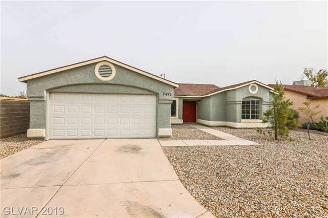 2492 Desert Glow, Las Vegas, NV 89115 (MLS #2157440) :: Signature Real Estate Group