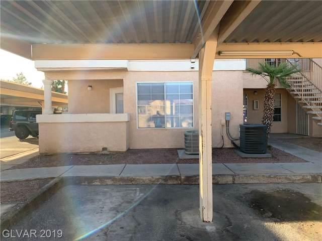 1830 Pecos #125, Las Vegas, NV 89115 (MLS #2157599) :: Trish Nash Team