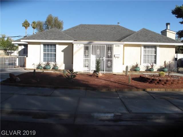 1001 Griffith, Las Vegas, NV 89104 (MLS #2157659) :: Signature Real Estate Group