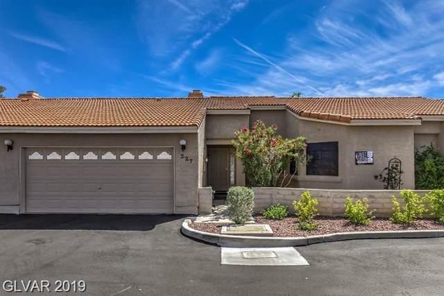 227 Cimarron, Las Vegas, NV 89145 (MLS #2157682) :: Signature Real Estate Group