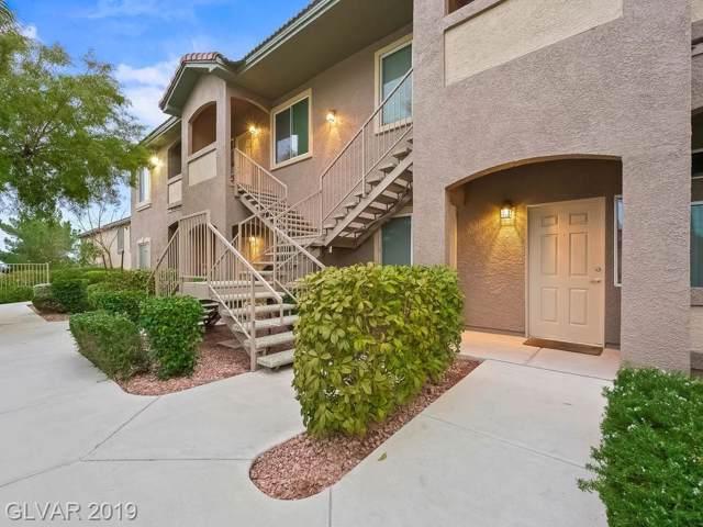 10640 Calico Mountain #103, Las Vegas, NV 89129 (MLS #2158043) :: Trish Nash Team