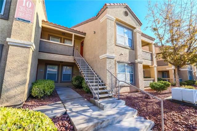 2300 Silverado Ranch #1171, Las Vegas, NV 89183 (MLS #2158138) :: Hebert Group | Realty One Group