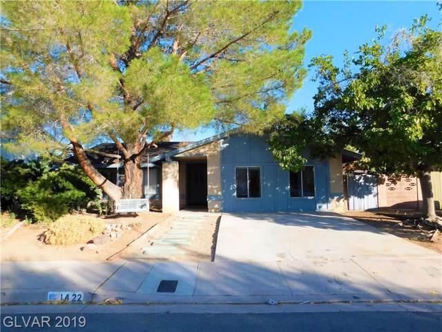 1422 Bronco, Boulder City, NV 89005 (MLS #2158142) :: Brantley Christianson Real Estate