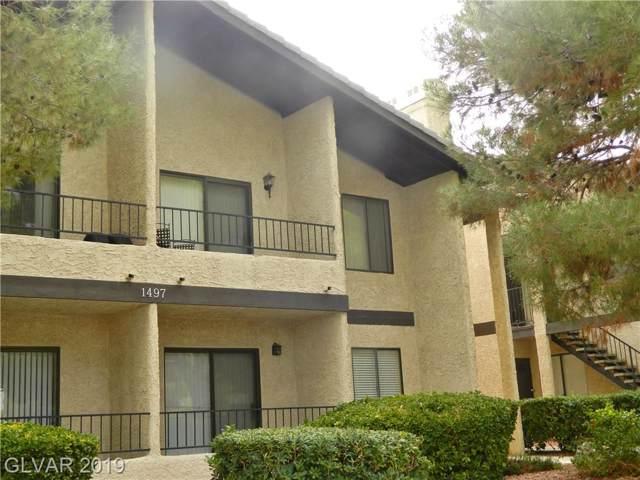 1497 Tamareno D, Las Vegas, NV 89119 (MLS #2158263) :: Signature Real Estate Group