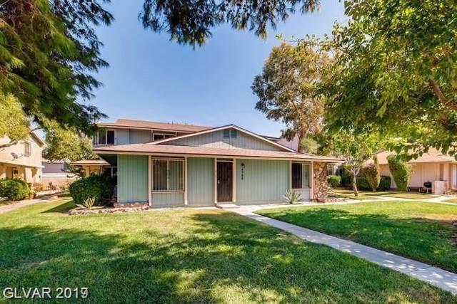 4758 Roberta #4, Las Vegas, NV 89119 (MLS #2158264) :: Signature Real Estate Group