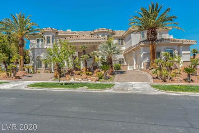 1425 Iron Hills Lane, Las Vegas, NV 89134 (MLS #2158328) :: The Shear Team