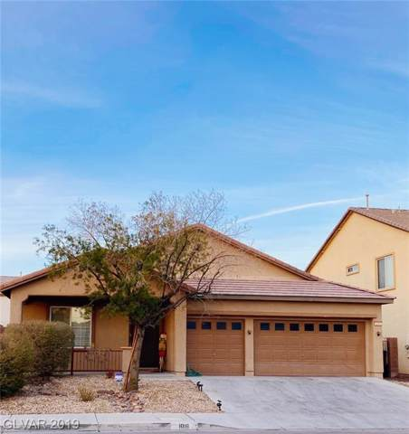 1016 E Hammer, North Las Vegas, NV 89081 (MLS #2158471) :: Vestuto Realty Group