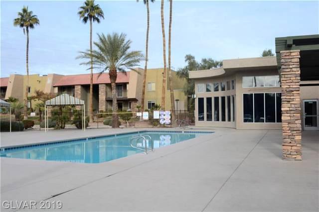 5001 River Glen #36, Las Vegas, NV 89103 (MLS #2158687) :: Trish Nash Team