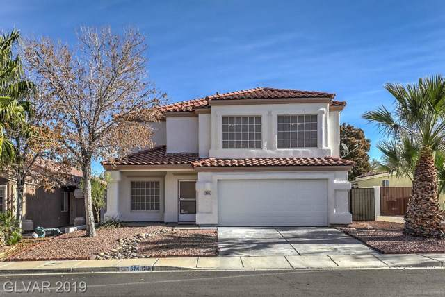 574 Bugle Bluff, Henderson, NV 89015 (MLS #2159271) :: Performance Realty