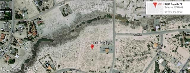 1681 S Escuela, Pahrump, NV 89048 (MLS #2159402) :: Vestuto Realty Group