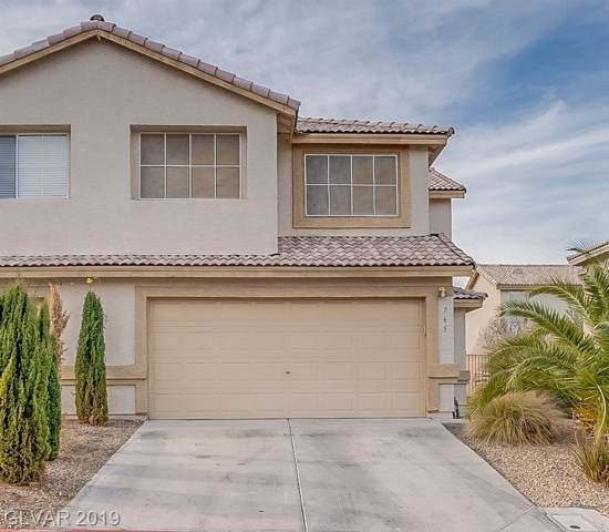765 Spotted Eagle, Henderson, NV 89015 (MLS #2159435) :: Vestuto Realty Group