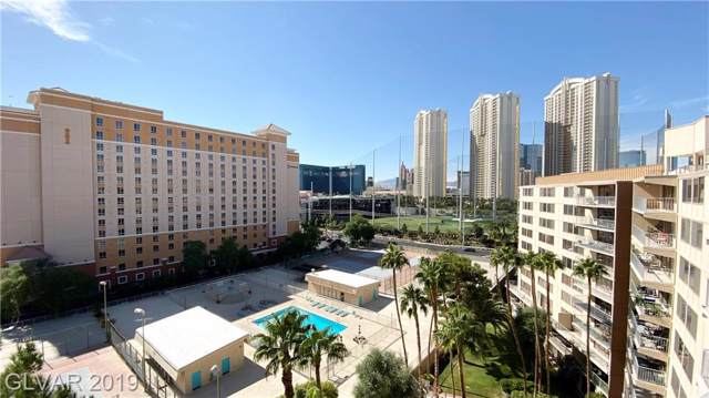 205 E Harmon #1009, Las Vegas, NV 89169 (MLS #2159679) :: Performance Realty