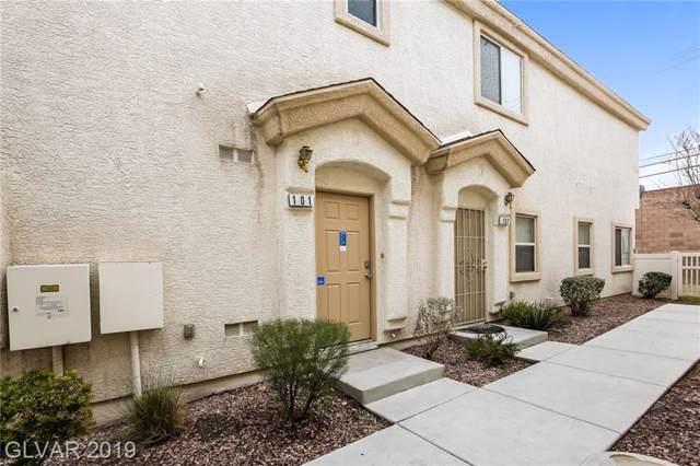 4647 Dealers Choice #101, Las Vegas, NV 89122 (MLS #2160572) :: Signature Real Estate Group