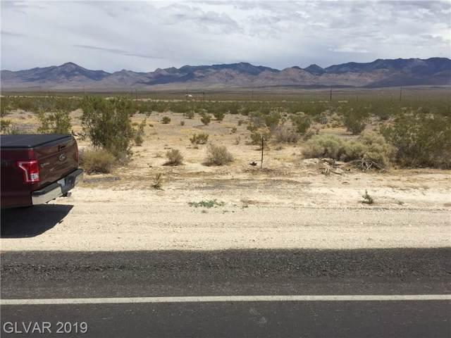 6821 N Nevada, Pahrump, NV 89060 (MLS #2160694) :: Performance Realty
