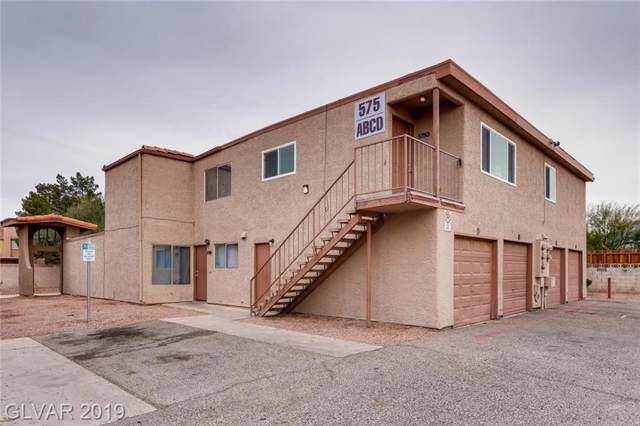 575 Roxella D, Las Vegas, NV 89110 (MLS #2161357) :: Hebert Group   Realty One Group
