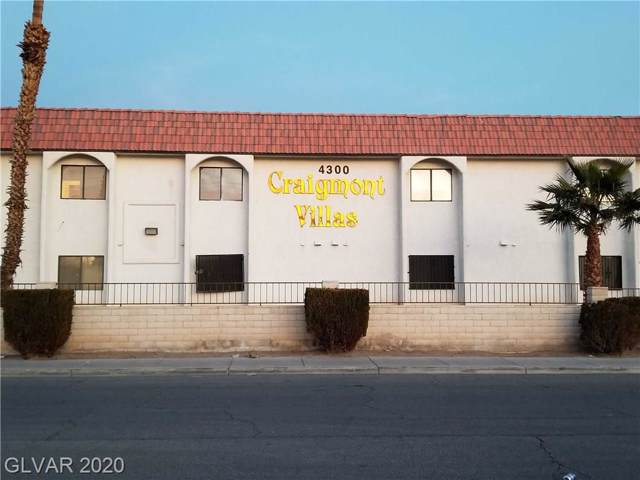 4300 Lamont Street #214, Las Vegas, NV 89115 (MLS #2161742) :: The Shear Team