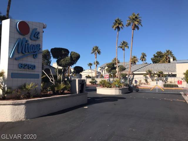 6250 W Flamingo Rd Road #85, Las Vegas, NV 89103 (MLS #2162459) :: The Perna Group