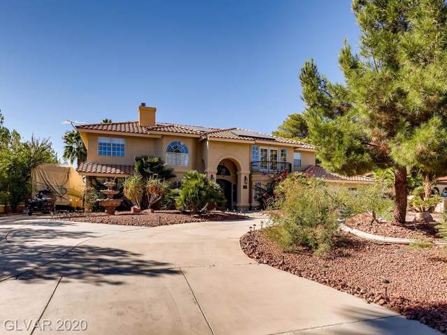 2665 Monte Cristo Way, Las Vegas, NV 89117 (MLS #2162746) :: Jeffrey Sabel