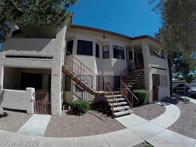 709 Rock Springs Drive #102, Las Vegas, NV 89128 (MLS #2162894) :: Billy OKeefe | Berkshire Hathaway HomeServices